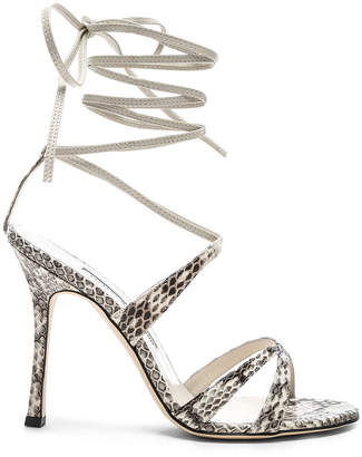 Manolo Blahnik Criss 105 Sandals
