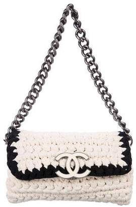 1c714a26ed77 Pre-Owned at TheRealReal · Chanel Fancy Crochet Flap Bag