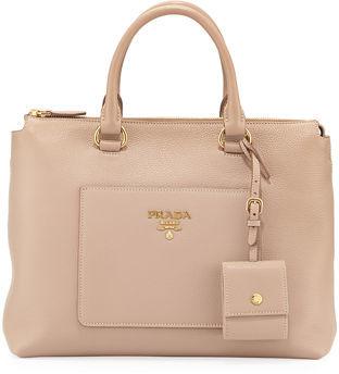 Prada Vitello Daino Tote Bag $1,700 thestylecure.com