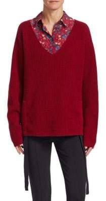 Altuzarra Baez Ruched Sweater