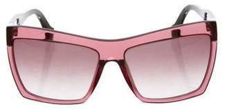 Balenciaga Oversize Tinted Sunglasses