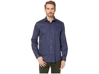 Bugatchi Long Sleeve Shaped Fit Woven Shirt