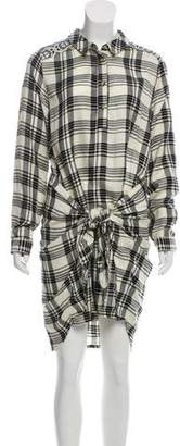 Tolani Plaid Long Sleeve Top w/ Tags