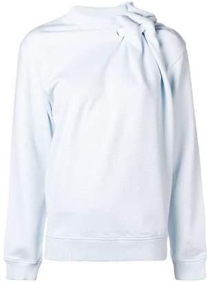 Y/Project Y / Project asymmetric gathered sweatshirt