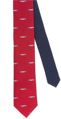 Tommy Hilfiger Men's Racecar Slim Silk Tie