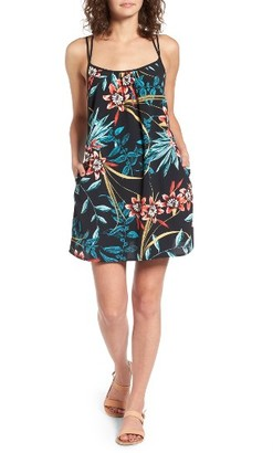 Women's Band Of Gypsies Tropical Shift Dress $55 thestylecure.com