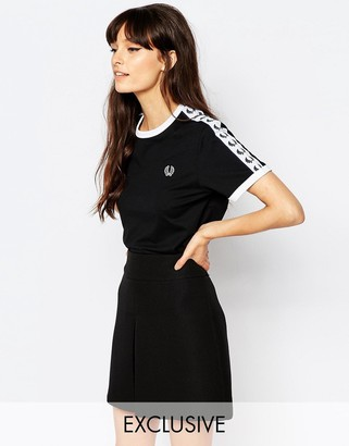Fred Perry Archive Taped Ringer T-Shirt $60 thestylecure.com