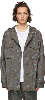 Nonnative Grey Hooded Hunter Jacket