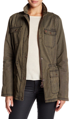 Barbour Collared Casual Jacket $349 thestylecure.com