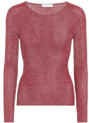 Etro Metallic knitted top