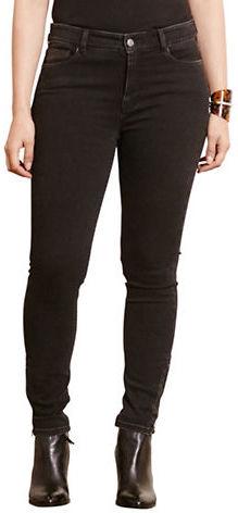 Lauren Ralph LaurenLauren Ralph Lauren Plus Zip-Cuff Skinny Jeans