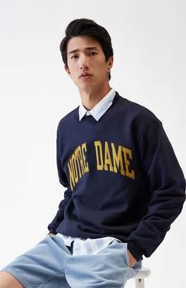 Champion Notre Dame Crew Neck Sweatshirt