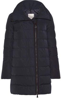 Moncler Lobelia Quilted Shell Down Coat - Navy