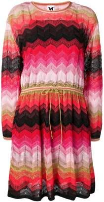 M Missoni zigzag knit jumper dress