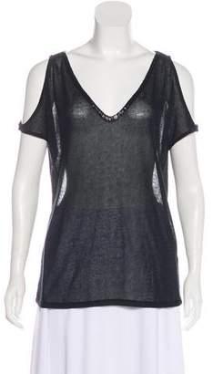 BB Dakota Sequin-Embellished Sleeveless Top