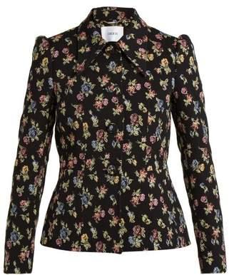 Erdem Floral jacquard jacket