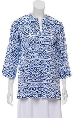 Roberta Roller Rabbit Printed Long Sleeve Tunic