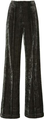 Jonathan Simkhai Lacy Velvet Newton Pants