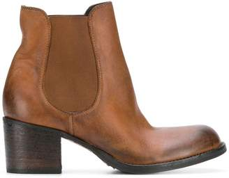 Strategia Olivin Wash Boston boots