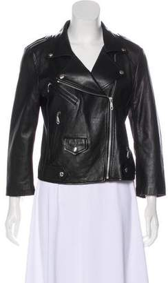 Rebecca Minkoff Wes Leather Biker Jacket