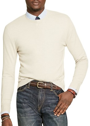 Polo Ralph Lauren Merino Wool Crewneck Sweater $165 thestylecure.com