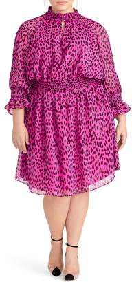 Rachel Roy Lucky Leopard Dress