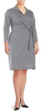 Lafayette 148 New York Edeline Faux Wrap Dress