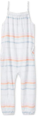Polo Ralph Lauren Cotton Dobby Jumpsuit, Toddler Girls