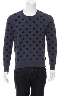Burberry Polka Dot Cashmere-Blend Sweater