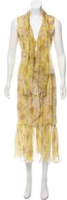 Valentino Printed Maxi Dress