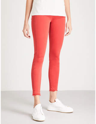 7 For All Mankind The Skinny Crop stretch-denim jeans