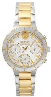 Versace Harbour Heights Chronograph Bracelet Watch, 38mm