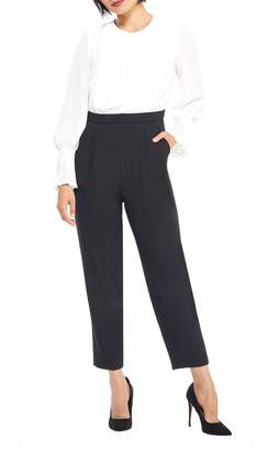 Maggy London Two-Tone Jumpsuit