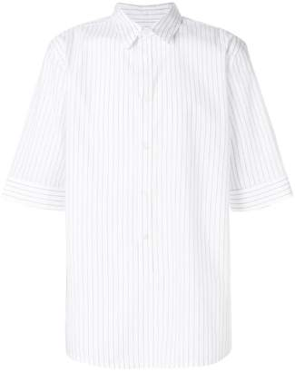Helmut Lang short sleeves striped shirt