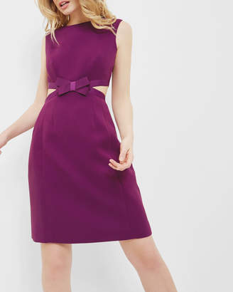 Ted Baker JAYCEE Cut out bow dress