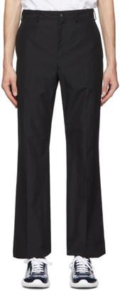 Valentino Black Cotton Trousers