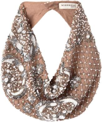 Mignonne Gavigan Le Charlot Pearl Scarf Necklace
