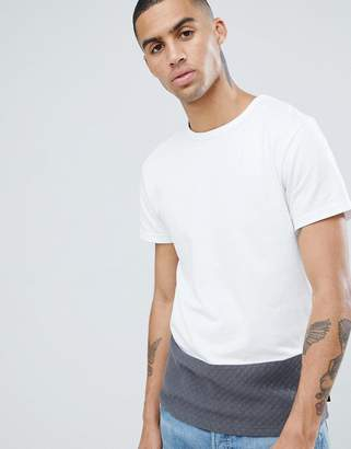 D-Struct Quilted Cut and Sew T-Shirt