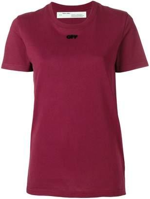 Off-White logo short-sleeve T-shirt