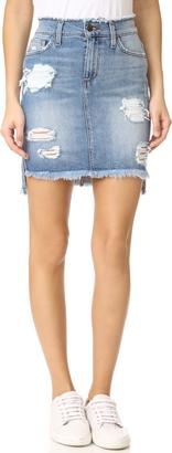 Joe's Jeans High Low Pencil Skirt $178 thestylecure.com
