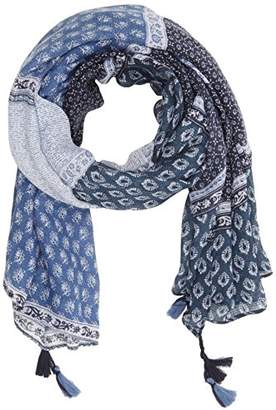 Fat Face Women's Geo Patchwork Scarf,(Manufacturer Size: One)