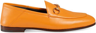 Leather Horsebit loafer $630 thestylecure.com