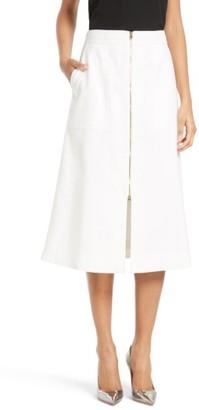 Women's Diane Von Fursternberg A-Line Midi Skirt $298 thestylecure.com