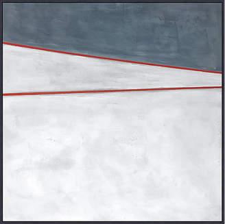 Lillian August - Blue White Red 2 Art