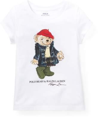 Ralph Lauren Wellie Bear Cotton T-Shirt