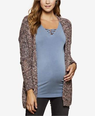 Jessica Simpson Maternity Open-Front Cardigan