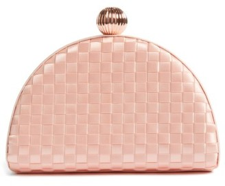 Ted Baker London Woven Dome Clutch - Pink $149 thestylecure.com