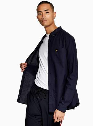 Topman LYLE SCOTT Navy Oxford Shirt