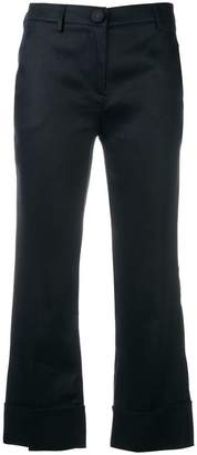 L'Autre Chose relaxed cropped trousers