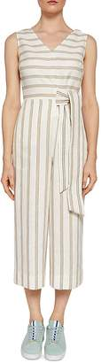 Ted Baker Colour By Numbers Zelma Striped Jumpsuit